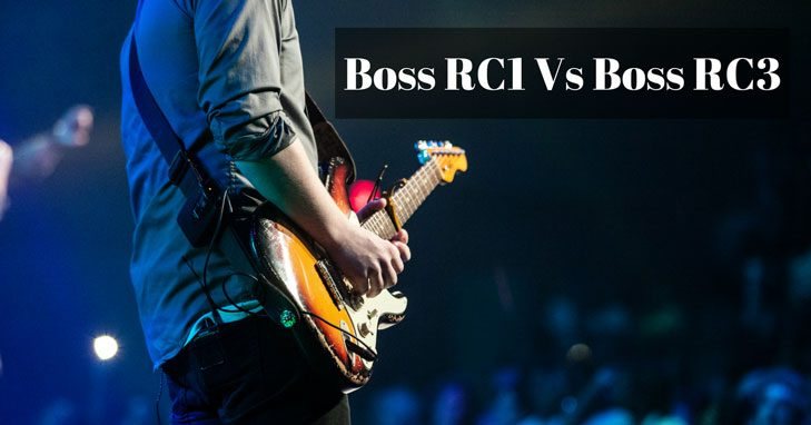 boss rc1 vs rc3