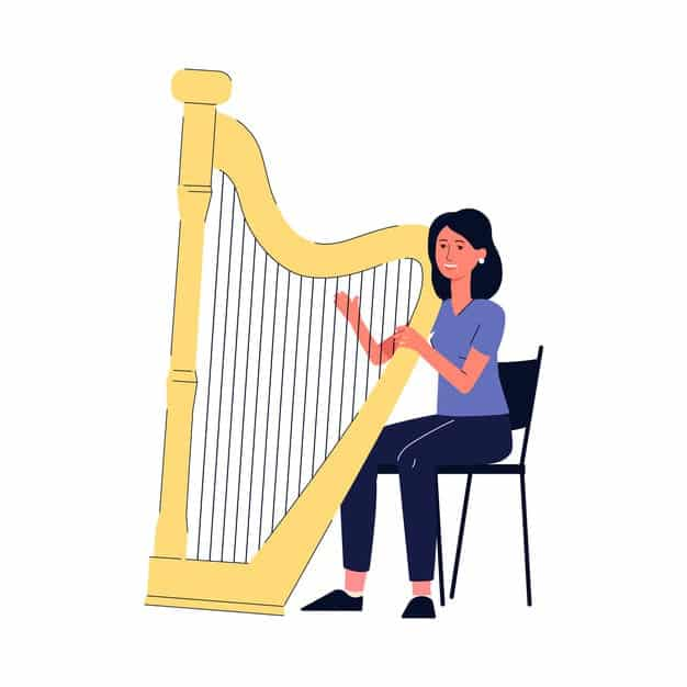 How Many Strings Does A Harp Have