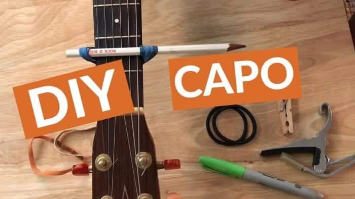homemade guitar capo