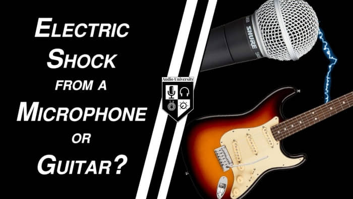 Can an electric guitar shock you