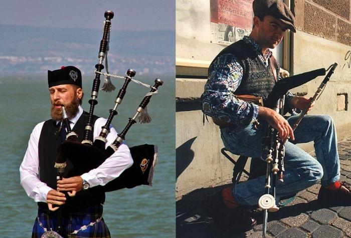 Are Bagpipes Irish Or Scottish