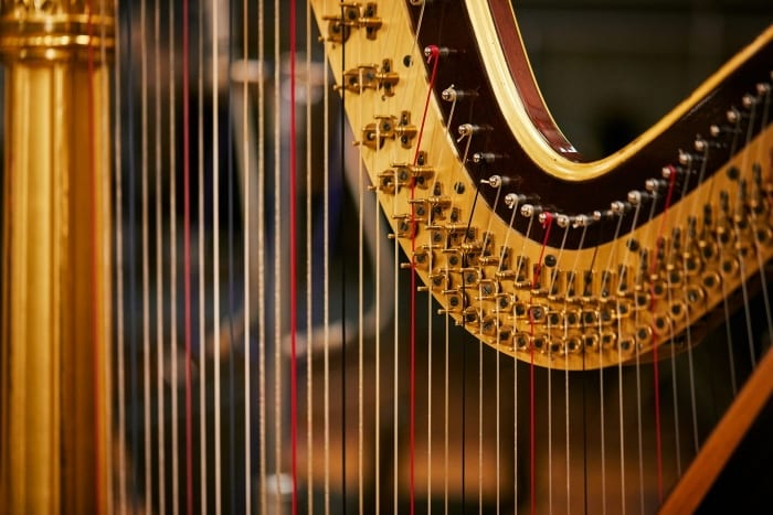 weight of harps