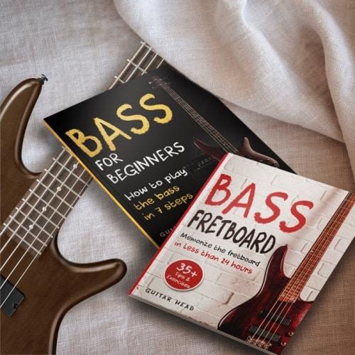 learn bass guitar through books