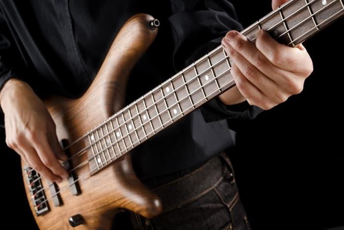 learning bass guitar is a bit easier than learning regular guitar