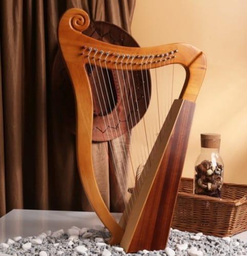 type of harps